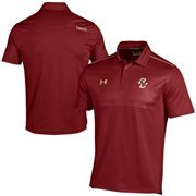 Boston College Eagles Under Armour Ultimate Coaches Sideline Polo - Red