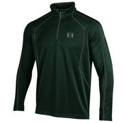 Men's Under Armour Green Hawaii Warriors Contrast Stitch 1/4-Zip Jacket