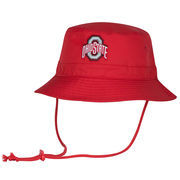 Men's Scarlet Ohio State Buckeyes Head Case Bucket Hat