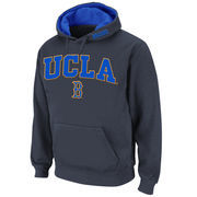Men's Stadium Athletic Charcoal UCLA Bruins Arch & Logo Pullover Hoodie