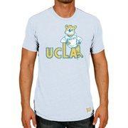 Men's Original Retro Brand Blue UCLA Bruins Vintage Tri-Blend T-Shirt