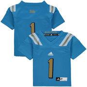 UCLA Bruins adidas Toddler #1 Replica Football Jersey - Blue