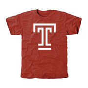 Temple Owls Classic Primary Tri-Blend T-Shirt - Cherry