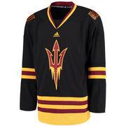 Men's adidas Black Arizona State Sun Devils Hockey Jersey