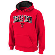 Men's Stadium Athletic Scarlet Texas Tech Red Raiders Arch & Logo Pullover Hoodie