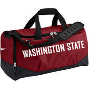 Washington State Cougars Nike Crimson Medium Training Duffle Bag