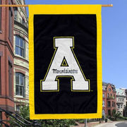 Appalachian State Mountaineers Black 28'' x 44'' Team Logo Applique Flag