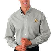 Baylor Bears Velocity Oxford Shirt - Gray
