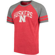 Men's Scarlet Nebraska Cornhuskers True Classic Tri-Blend T-Shirt