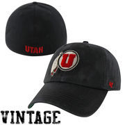 Utah Utes Franchise Fitted Hat - Black