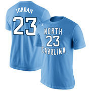 Men's Nike Michael Jordan Light Blue North Carolina Tar Heels Future Star Basketball Replica T-Shirt