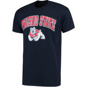 Men's Fanatics Branded Navy Fresno State Bulldogs Campus T-Shirt