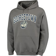 Men's Fanatics Branded Charcoal Georgetown Hoyas Campus Pullover Hoodie
