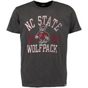 Men's '47 Brand Charcoal NC State Wolfpack Vintage Scrum T-Shirt