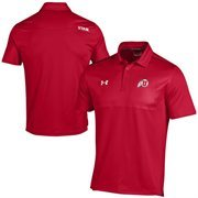 Utah Utes Under Armour Ultimate Coaches Sideline Polo - Red