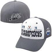 Men's Top of the World Gray/White Virginia Cavaliers 2015 NCAA Men's Baseball College World Series National Champions Locker Roo
