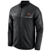 Men's Nike Black Oregon State Beavers 2016 Sideline Elite Hybrid Performance Jacket