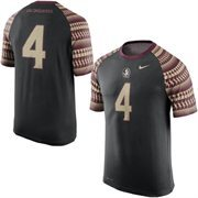Men's Nike Black Florida State Seminoles New Day No. 4 Performance T-Shirt