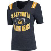 Women's Colosseum Navy Cal Bears Artistic T-Shirt