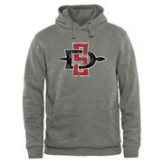 Men's Ash San Diego State Aztecs Classic Primary Pullover Hoodie