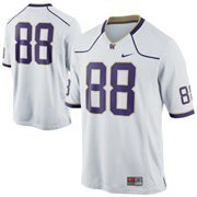 Nike Washington Huskies #88 Game Football Jersey - White