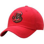 Men's Top of the World Carnelian Cornell Big Red Solid Crew Adjustable Hat