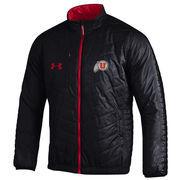 Men's Under Armour Black Utah Utes Accelerate Full-Zip Jacket