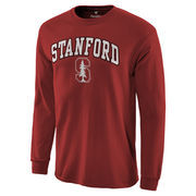 Men's Cardinal Stanford Cardinal Campus Long Sleeve T-Shirt