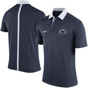 Men's Nike Navy Penn State Nittany Lions 2015 Coaches Sideline Dri-FIT Polo