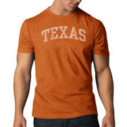 Men's '47 Brand Burnt Orange Texas Longhorns Vintage School Name Scrum T-Shirt