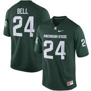 Men's Nike Le'Veon Bell Green Michigan State Spartans Alumni Football Game Jersey
