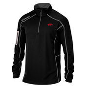 Men's Columbia Golf Black Arkansas Razorbacks Shotgun Quarter-Zip Pullover