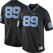Men's Nike Black North Carolina Tar Heels #89 Game Football Jersey