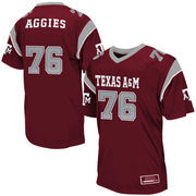 Mens Texas A&M Aggies Maroon Blitz Football Jersey