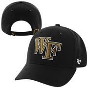 '47 Brand Wake Forest Demon Deacons Clean Up Adjustable Hat - Black