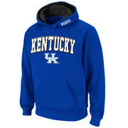 Men's Stadium Athletic Royal Kentucky Wildcats Arch & Logo Pullover Hoodie