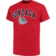 Men's Fanatics Branded Red Gonzaga Bulldogs Campus T-Shirt