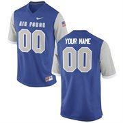 Nike Mens Air Force Falcons Custom Replica Football Jersey - Royal