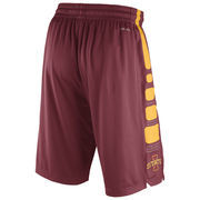 Men's Nike Cardinal Iowa State Cyclones Practice Elite Stripe Performance Shorts