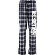 Women's Navy Georgetown Hoyas Flannel Pajama Pants