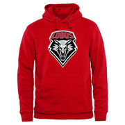 New Mexico Lobos Classic Primary Pullover Hoodie - Cherry