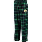 Men's Concepts Sport Kelly Green Notre Dame Fighting Irish Ultimate Flannel Pajama Pants