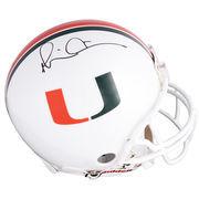 Michael Irvin Miami Hurricanes Autographed Riddell Pro-Line Authentic Helmet
