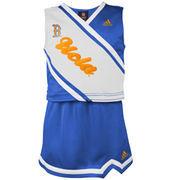 UCLA Bruins adidas Girls Youth 2-Piece Cheer Dress - True Blue