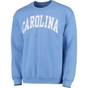 Men's Fanatics Branded Carolina Blue North Carolina Tar Heels Basic Arch Sweatshirt