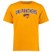 Men's Gold Northern Iowa Panthers Proud Mascot T-Shirt