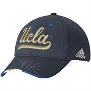 Men's adidas Charcoal UCLA Bruins Fan Structured Flex Hat