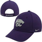 Kansas State Wildcats Nike Performance Dri-FIT Classic Adjustable Hat - Purple