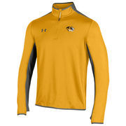 Men's Under Armour Gold Missouri Tigers Quarter-Zip Pullover Jacket
