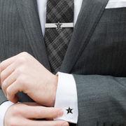 Vanderbilt Commodores Tie Bar & Cufflinks Set
